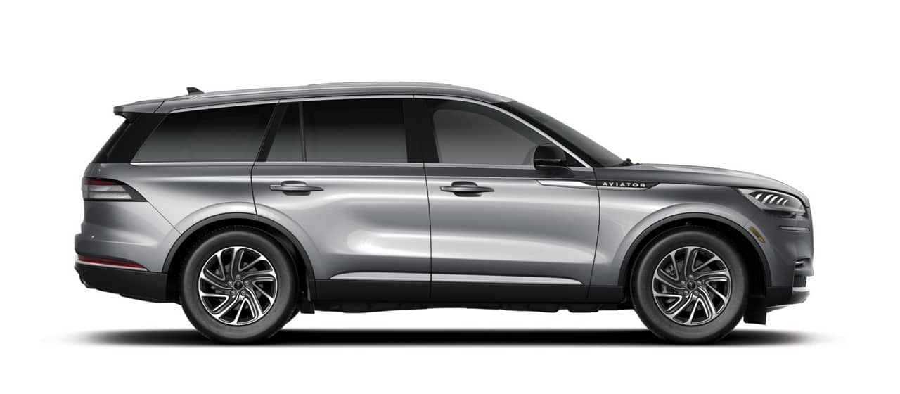 2021 Lincoln Aviator Reserve shown in Silver Radiance