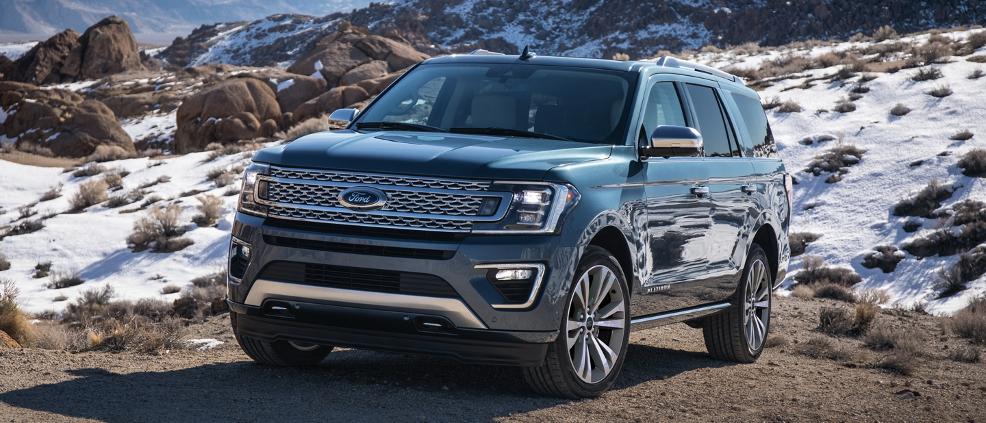 2021 Ford Expedition Platinum with independent front and rear suspension